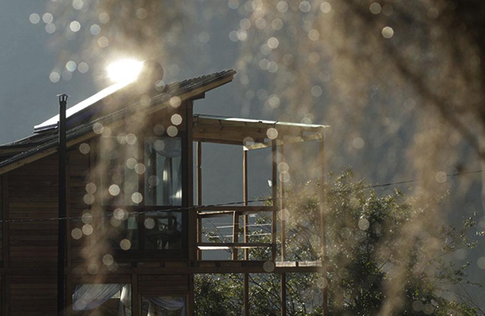 Casinha Pousada Pedras Rollantes aquecimento solar