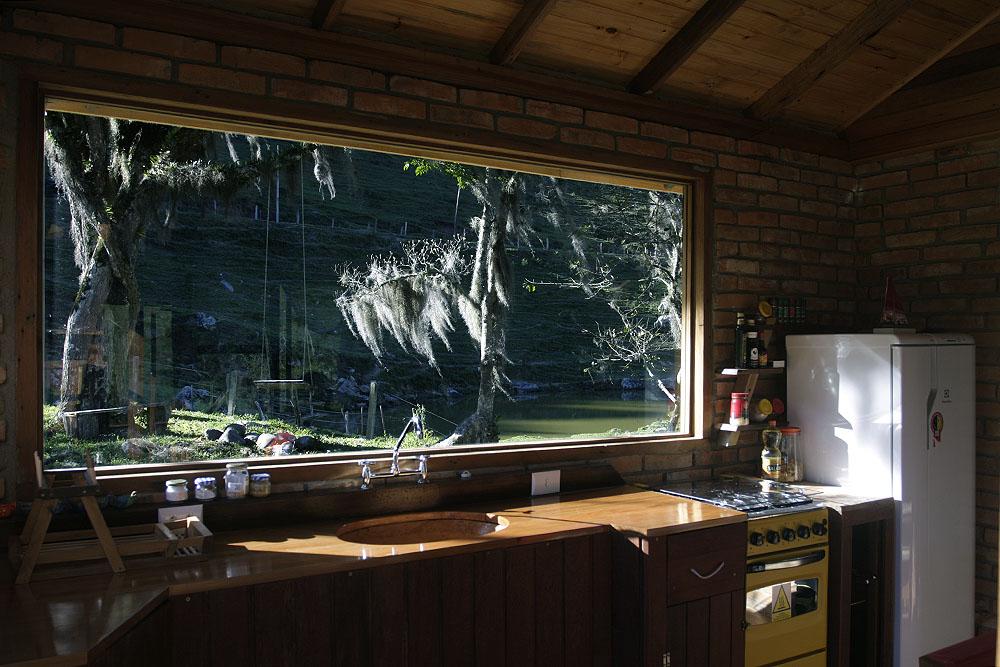 Casinha Pousada Pedras Rollantes cozinha